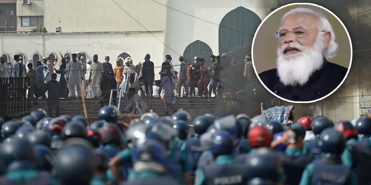 Bangladesh: Protests Continue Against Modi's Visit, 4 killed