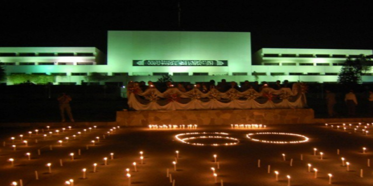 Lights Out At Prime Minister's Office For Earth Day