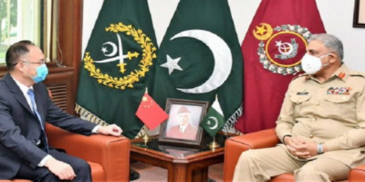 COAS, Chinese Ambassador Discuss Progress On CPEC And Regional Security