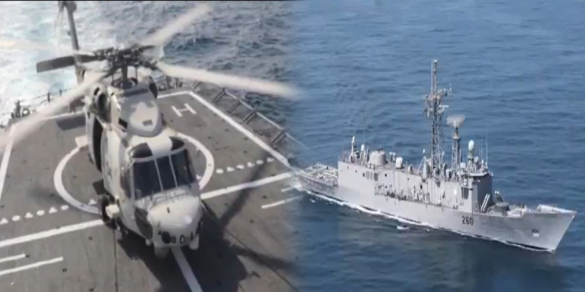 Pak Navy Conducts Bilateral Naval Exercises In Gulf Of Aden & NAS