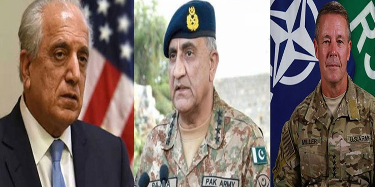 Top US officials Call On COAS, Appreciate Pakistan's Role In Afghan Peace Process
