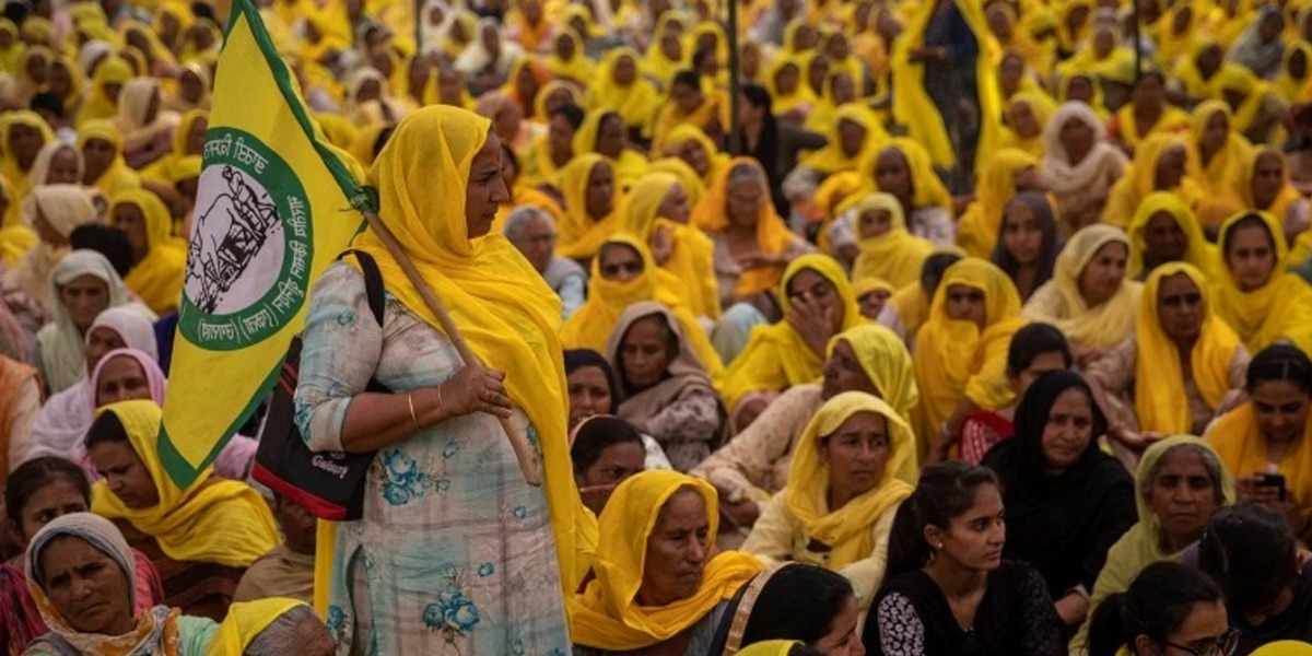 International Women's Day: Thousands of Women Join Farmers' Protest In India