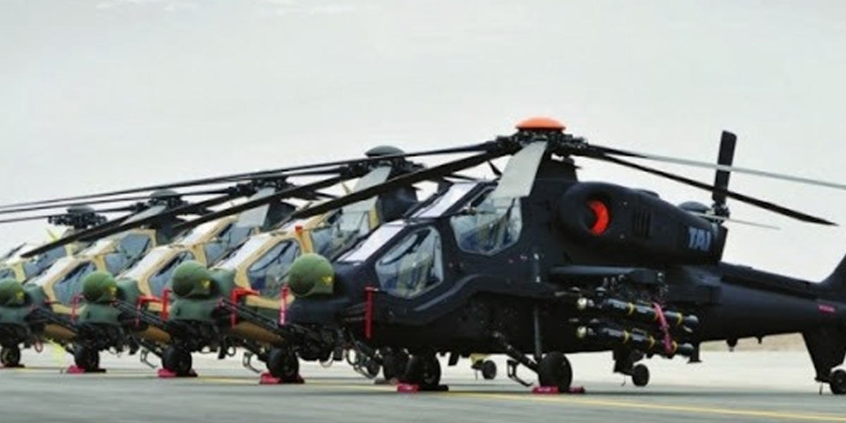 US Objects Sale of Turkish Gunship Helicopters To Pakistan