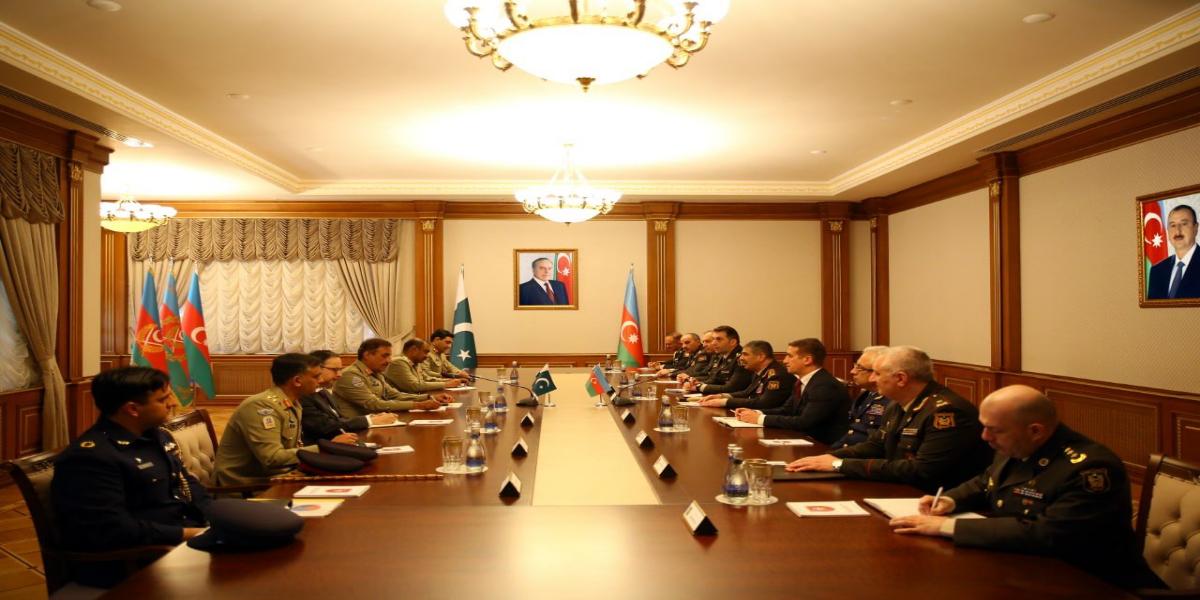 CJCSC Calls On Azerbaijani President, Emphasizing Bilateral Cooperation