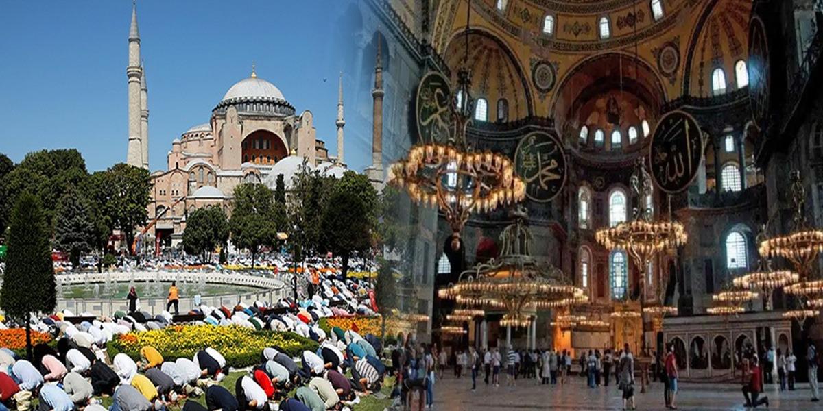 Shab e Meraj: After Eight Decades, Durood o Salaam Echoed In Hagia Sophia
