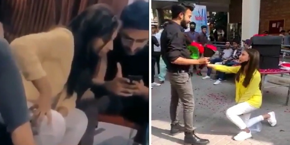 Watch: Lahore Girl 'Not Happy' With Her Viral Proposal Video