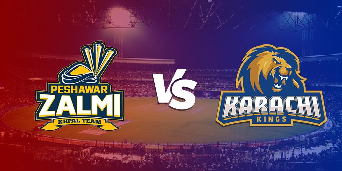 Karachi Kings Peshawar Zalmi PSL 2021