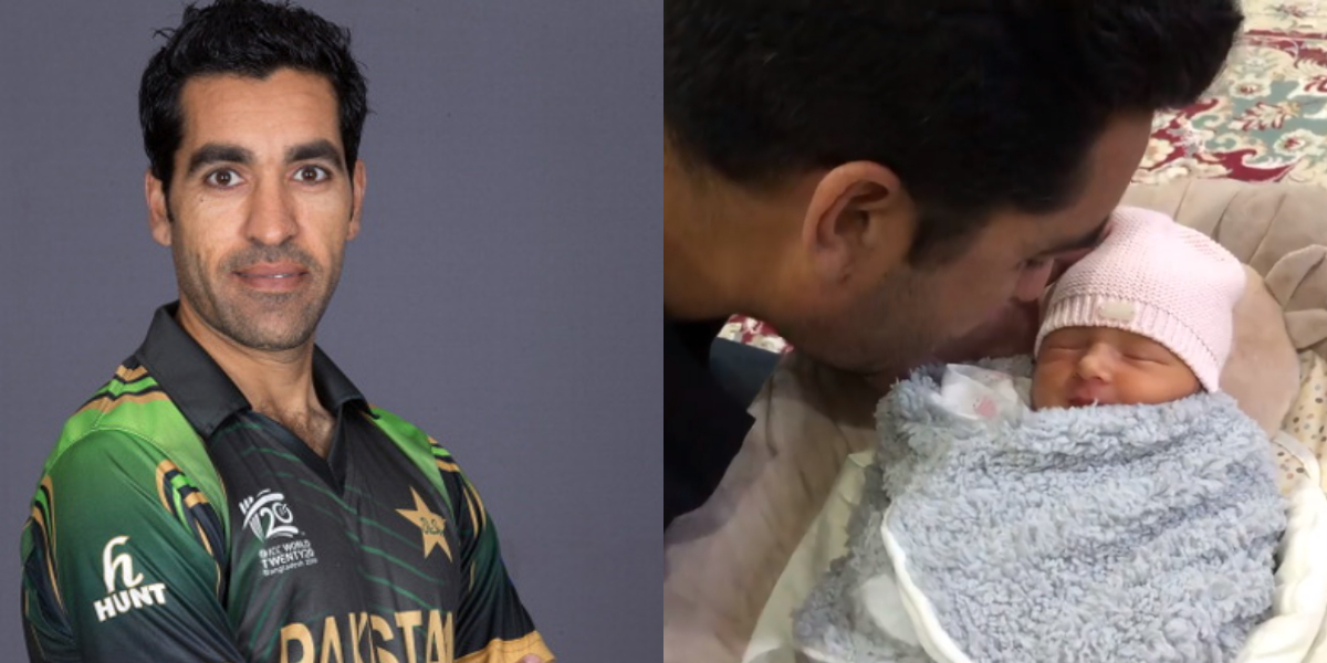 Umar Gul recites Azaan in baby's ear, video will make you emotional