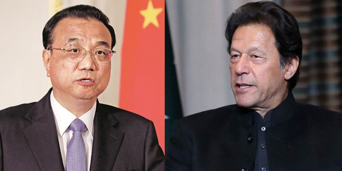 PM Imran Chinese counterpart