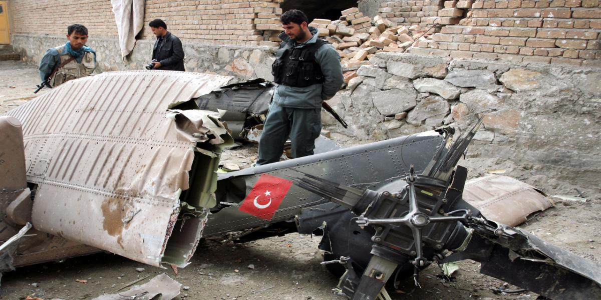 Turkish military helicopter crashed