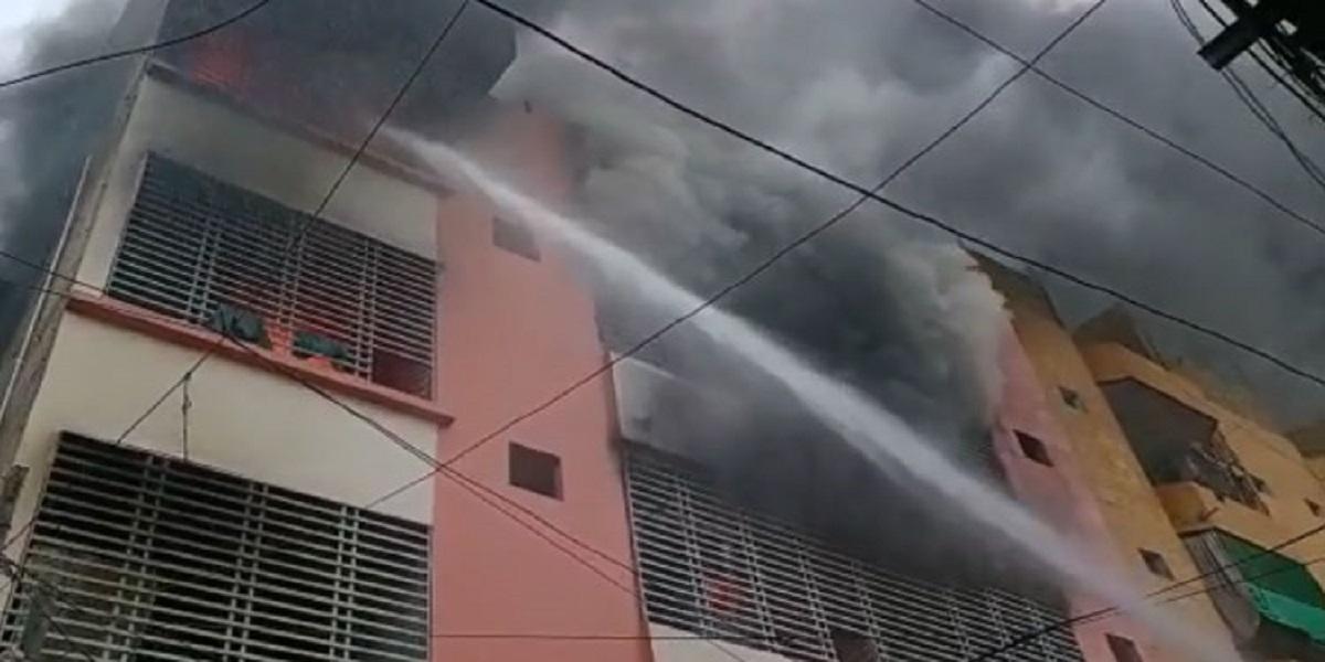 Fire godown Karachi