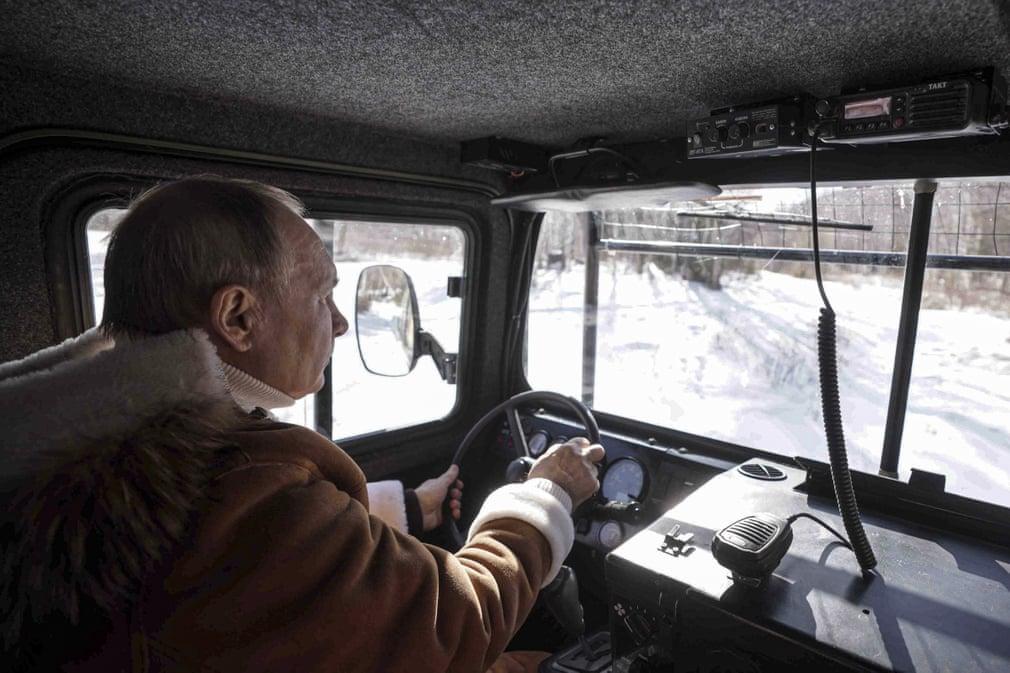 Vladimir Putin in Siberia