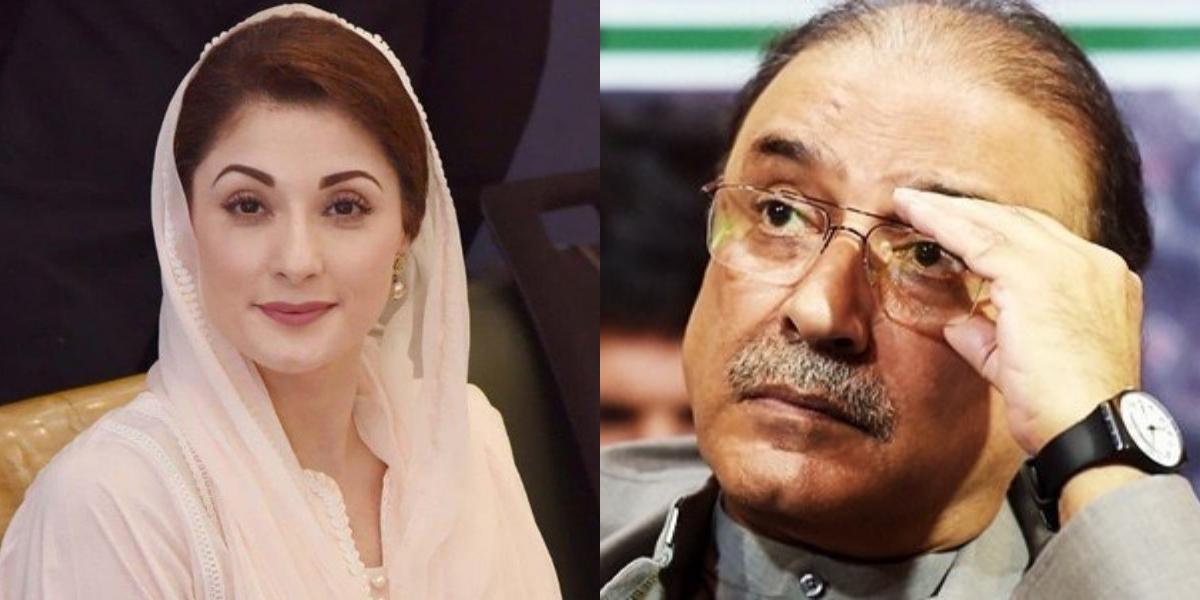 Zardari apologizes Maryam Nawaz