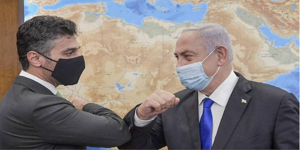 UAE envoy, Israel PM Netanyahu