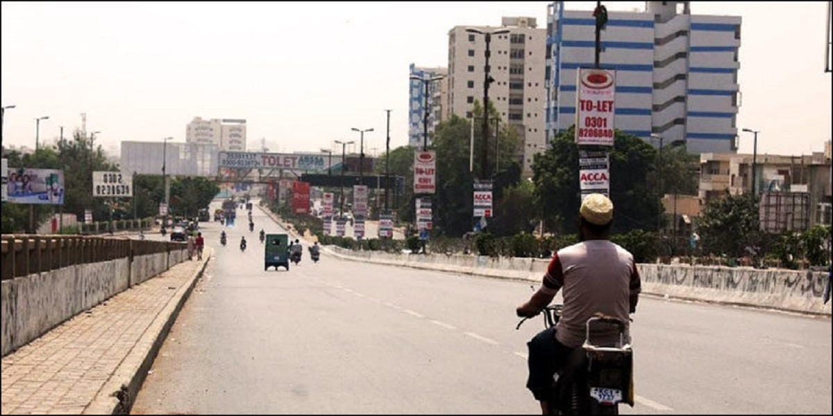 Karachi hot and dry weather