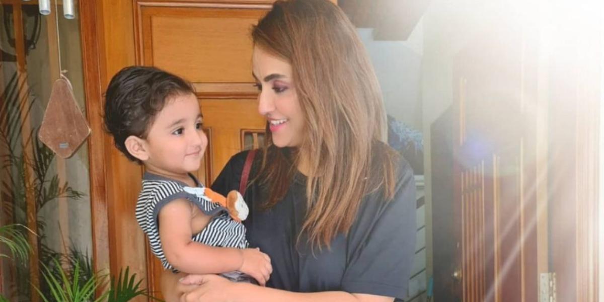 nadia khan adopted son kiaan