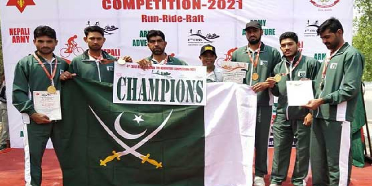 Pak Army bags gold medal in International Adventure Competition