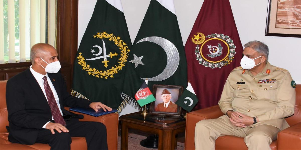 COAS meets Afghan Ambassador to Pakistan