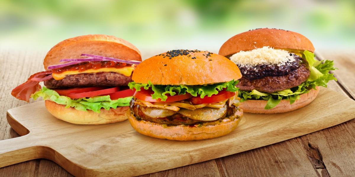 Woman buys 208 burgers