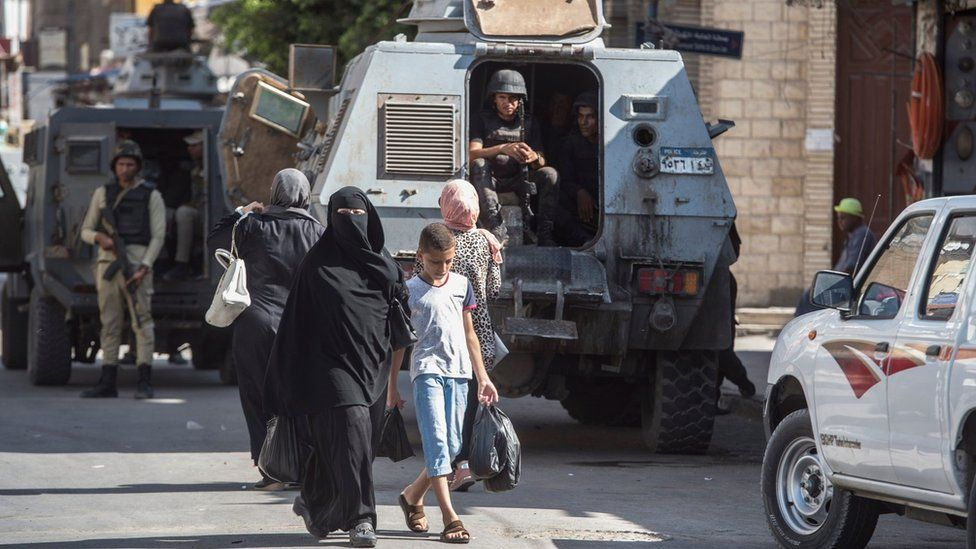 Egypt Police Attack