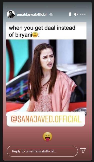 Sana Javed Umair Jaswal