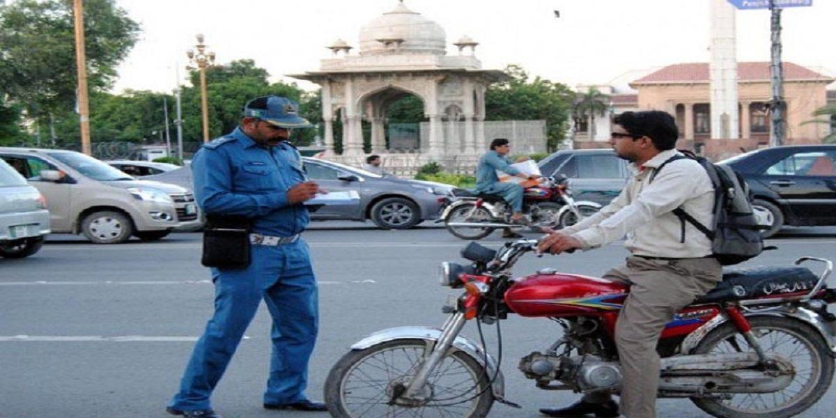 Lahore traffic police challan SOPs