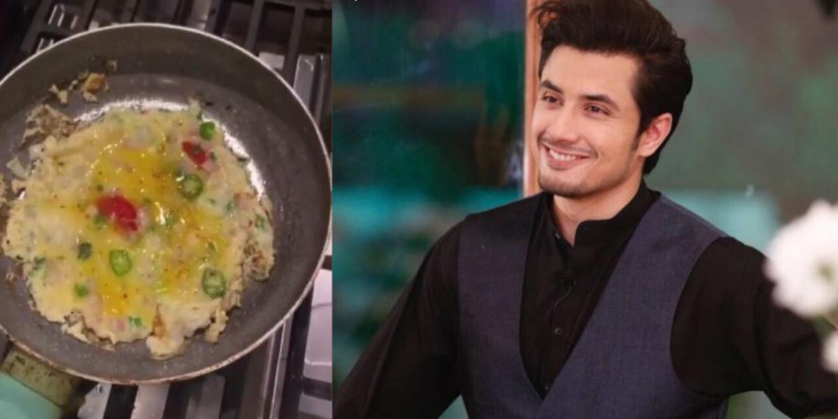 Ali Zafar Omelette Recipe