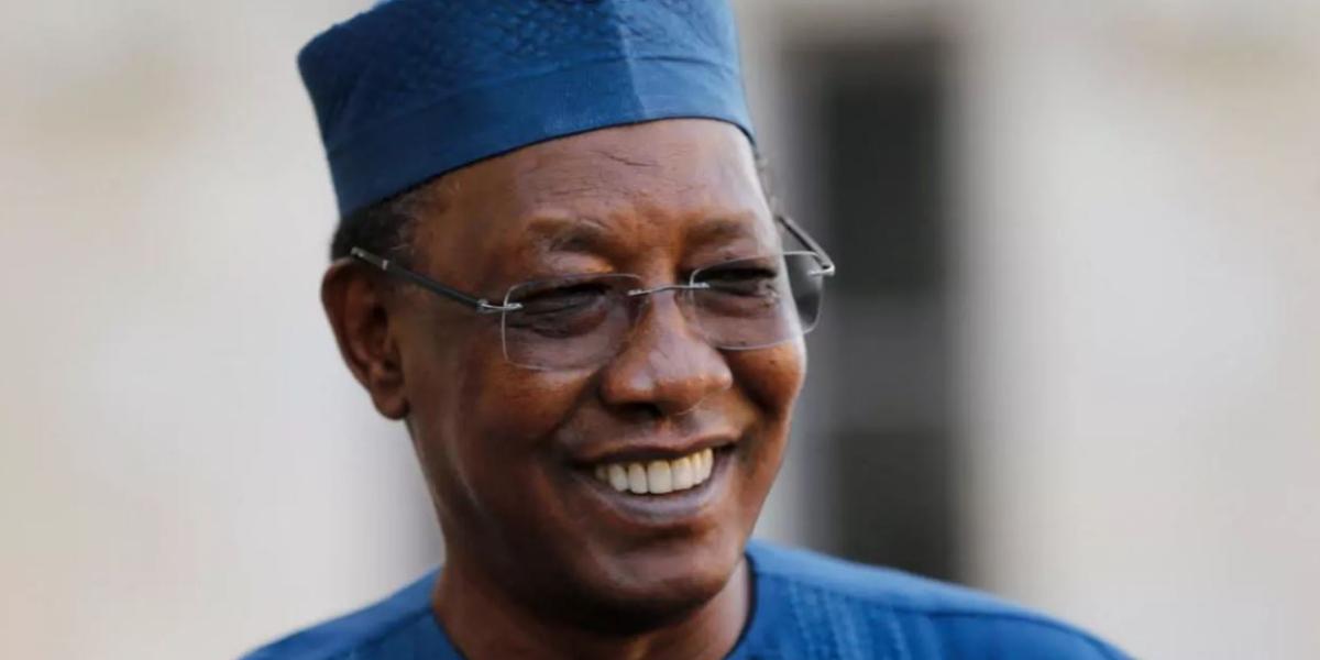 Chadian President Idriss Déby