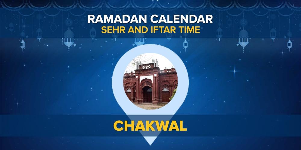 Ramadan Calendar Chakwal 2021
