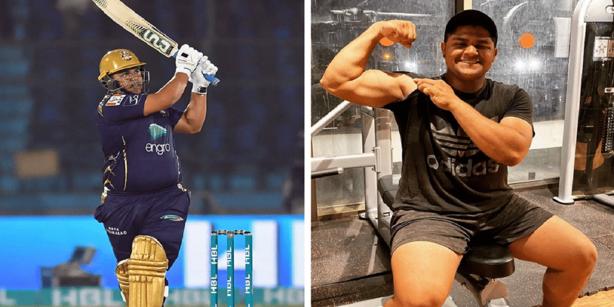 Cricketer Azam Khan has lost 37 kg in his fitness journey thus far