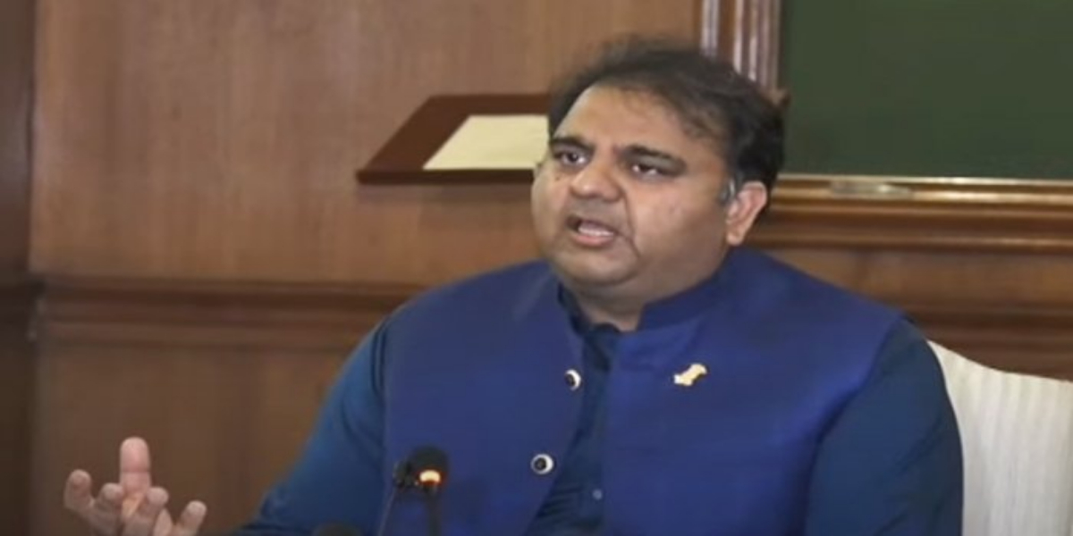 Fawad Chaudhry Clarifies Reports Of Putting Shehbaz Sharif's Name On ECL