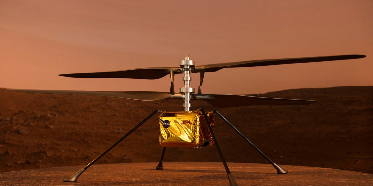 NASA'S Mars copter set for the first flight on Monday