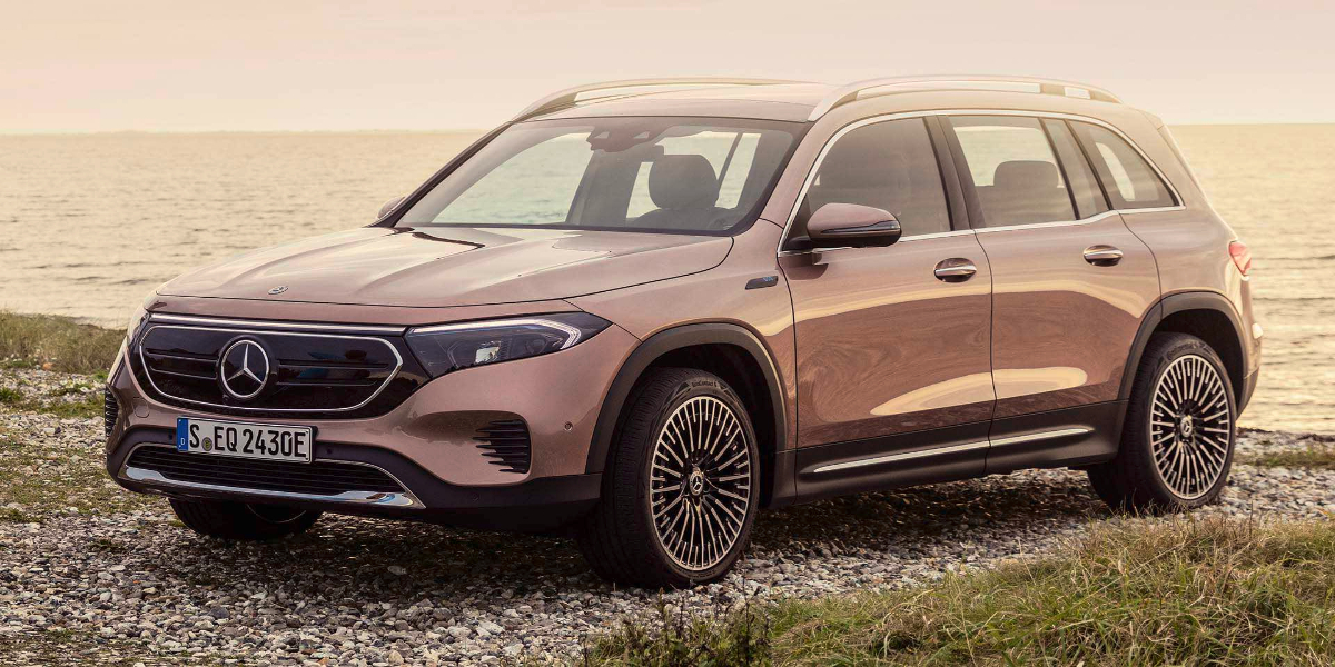 Mercedes-Benz introduces EQB, its first electric SUV for the US market
