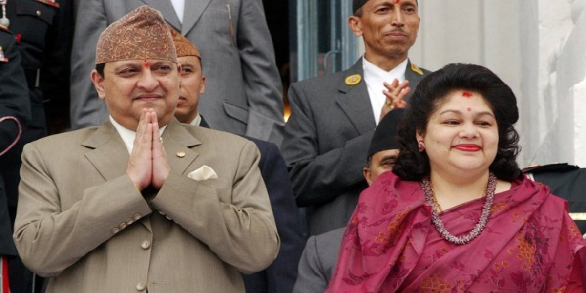 Former Nepalese kings tested COVID positive after the Hindu festival in India