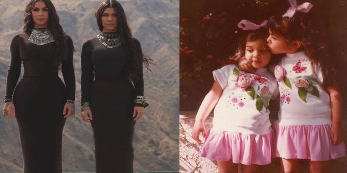 Kim Kardashian wishes elder sister Kourtney Kardashian on her 42nd birthday