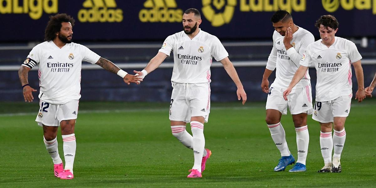 La Liga: Karim Benzema has scored twice as many as Real Madrid, in addition to Cádiz