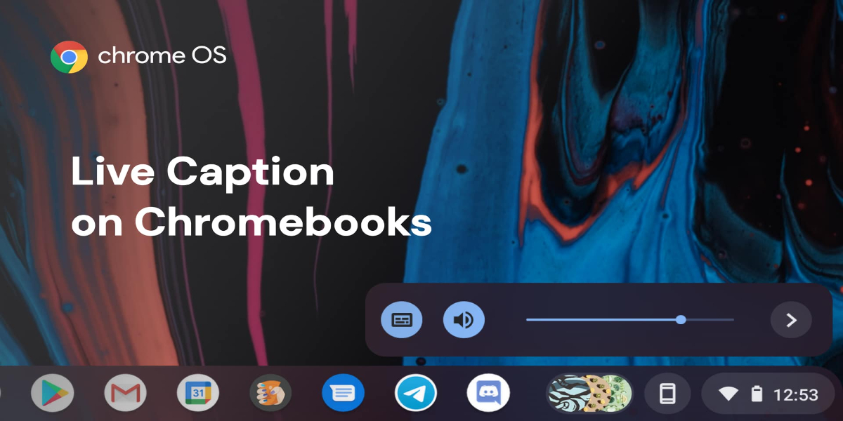 Google's Live Caption feature comes to Chromebooks