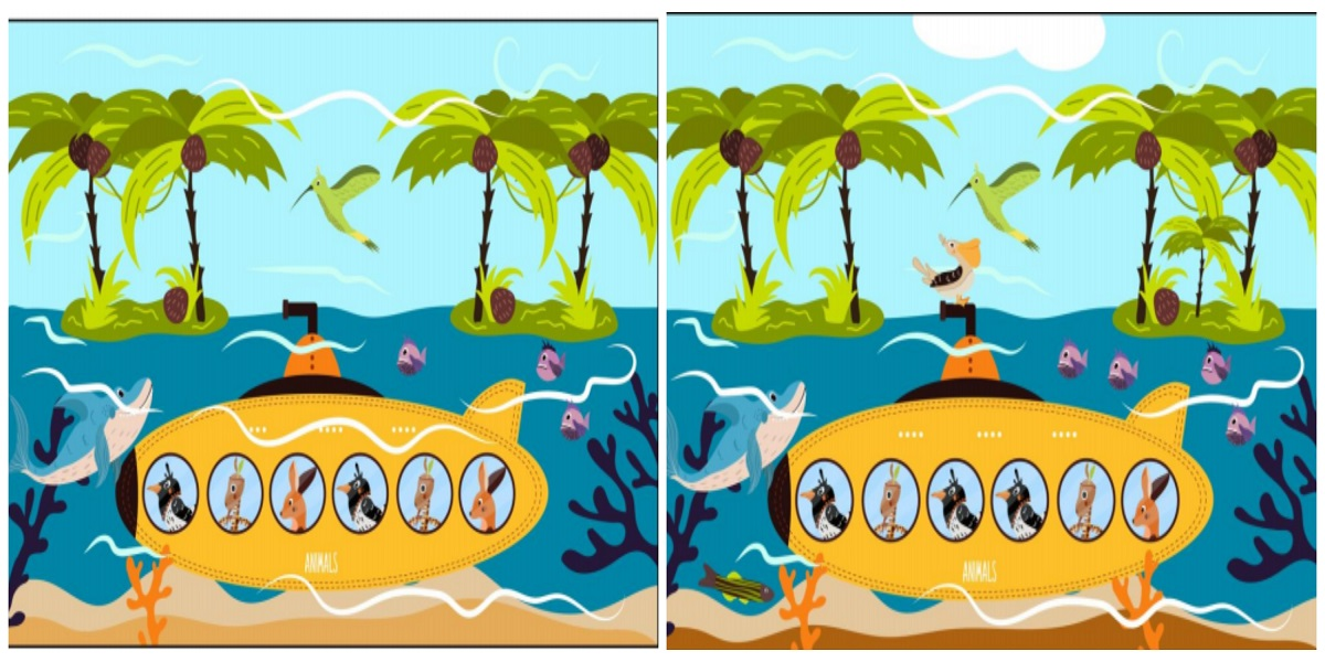 Can you find 10 differences between these two pictures?