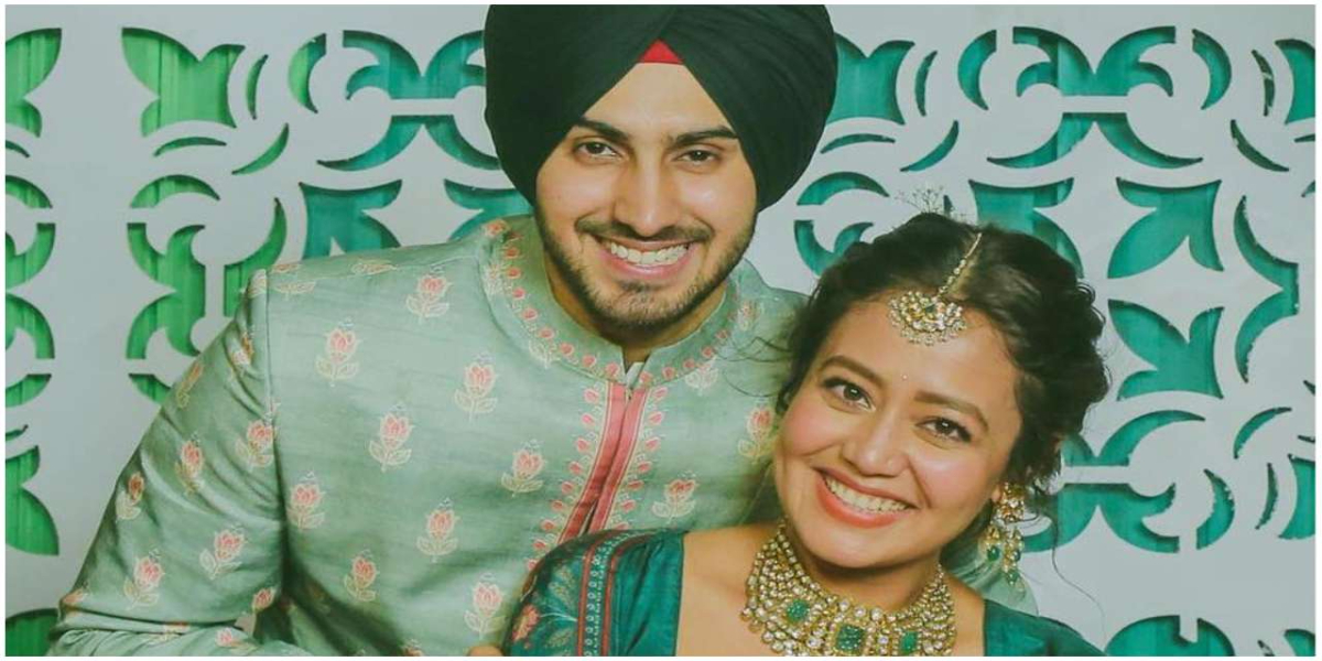 Neha Kakkar and Rohanpreet Singh completed their 6 moths together