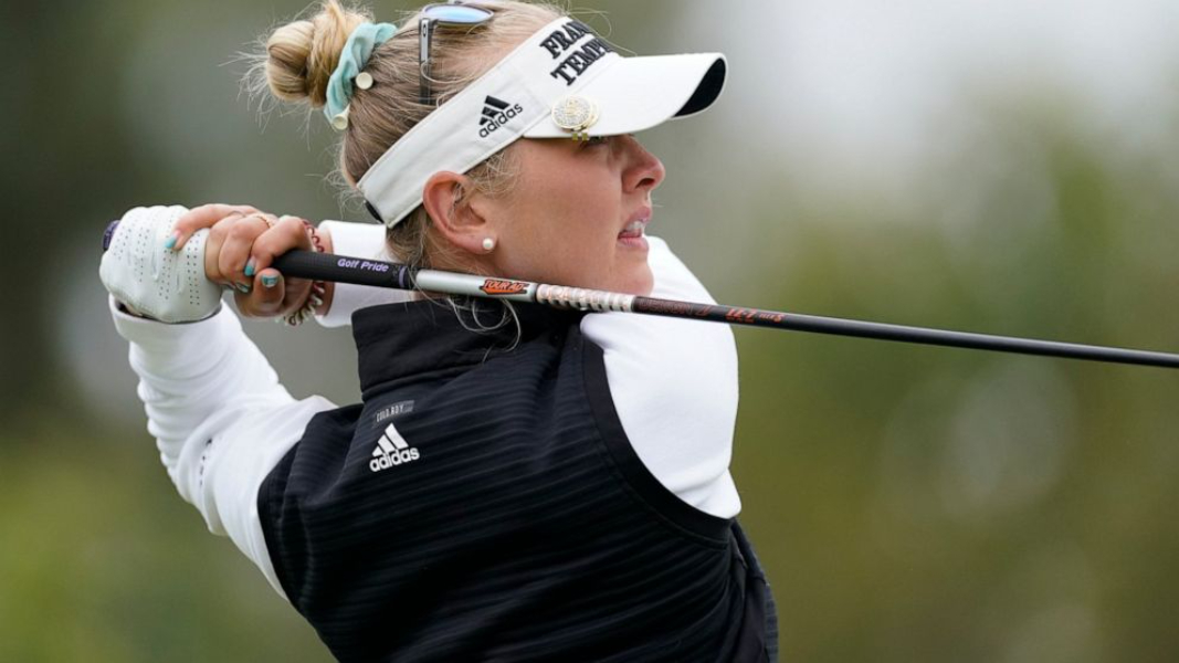 Jessica Korda sets the record for 36- holes to lead the LA Open