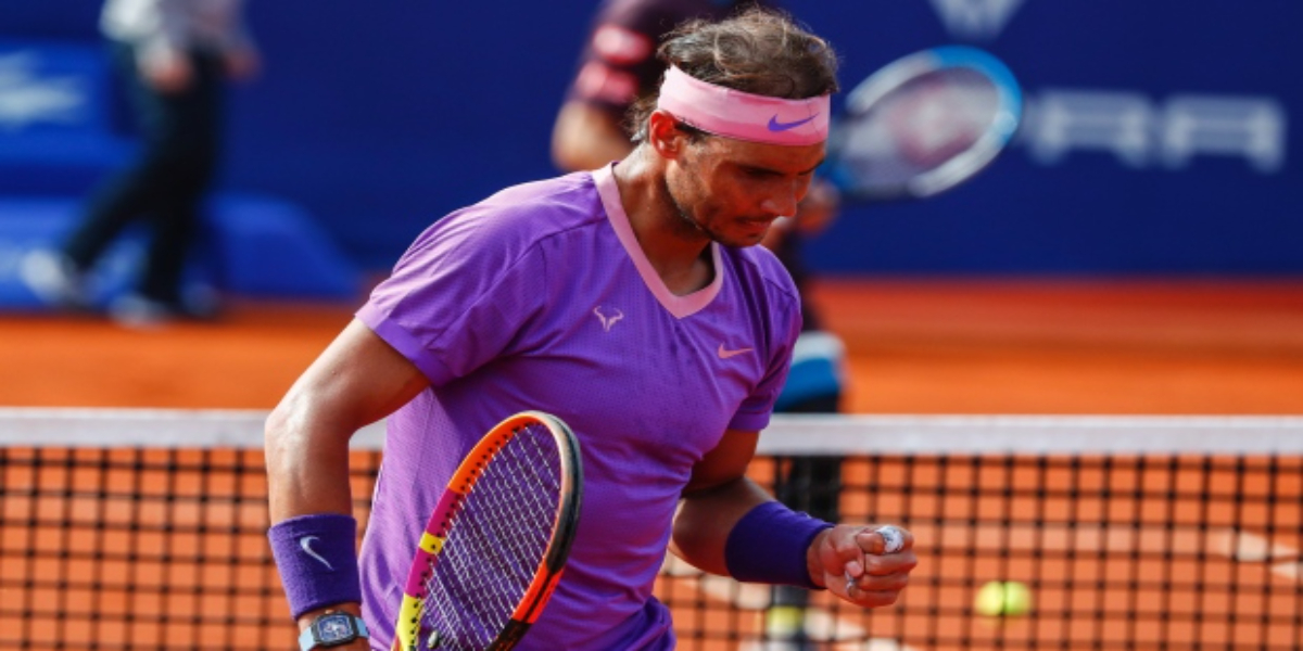 Nadal followed with 4-2 in the opening, but recovered, breaking twice to catch him.