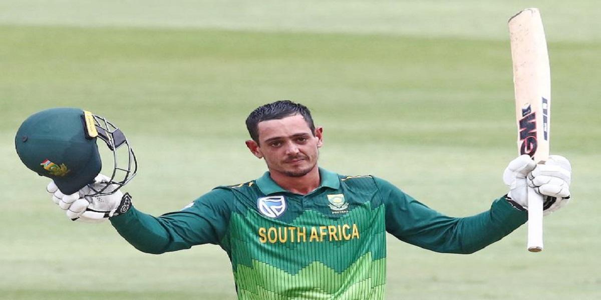 Twitter criticizes Quinton de Kock for 'fake fielding' in second ODI