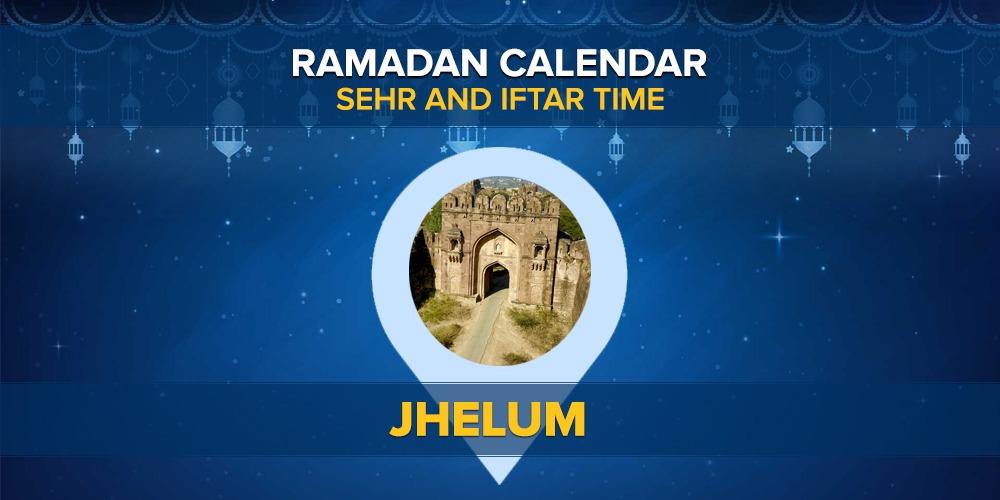 Ramadan Calendar Jhelum