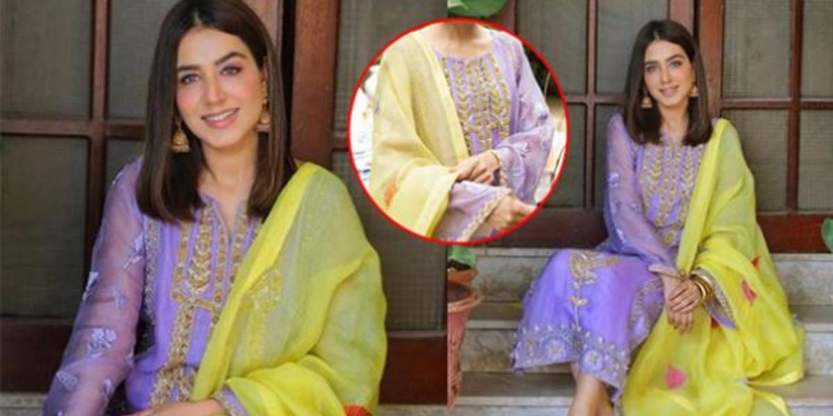 Mansha Pasha Dress