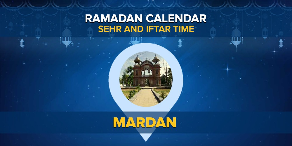 Ramadan Calendar Mardan 2021