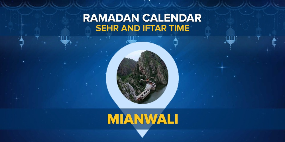 Ramadan Calendar Mianwali 2021