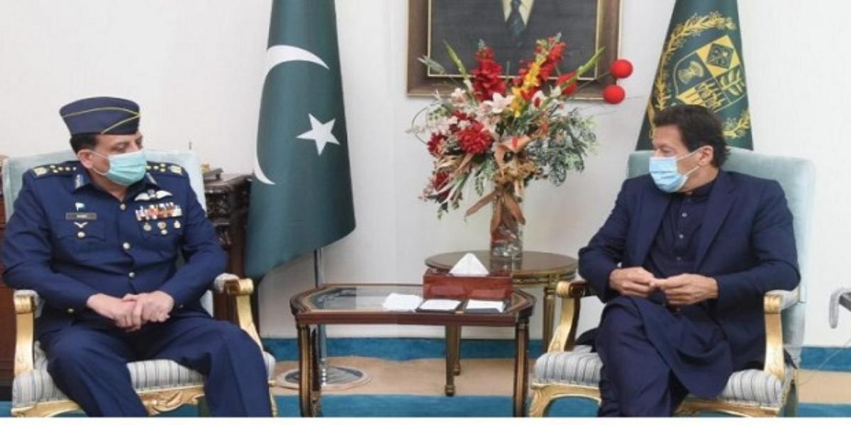 PM meets Air Chief