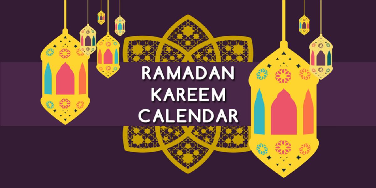 Ramadan Calendar UAE 2021