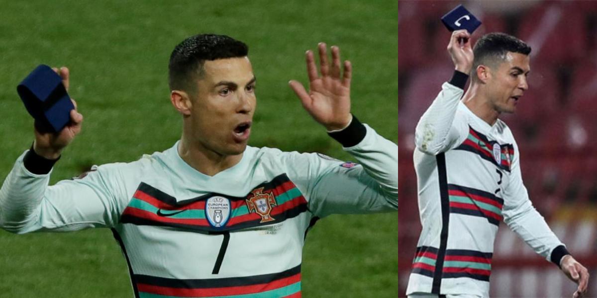 Cristiano Ronaldo Armband auctioned