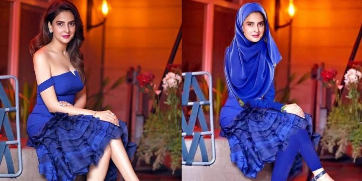 Saba Qamar Receives Flak For Her SHort Dress